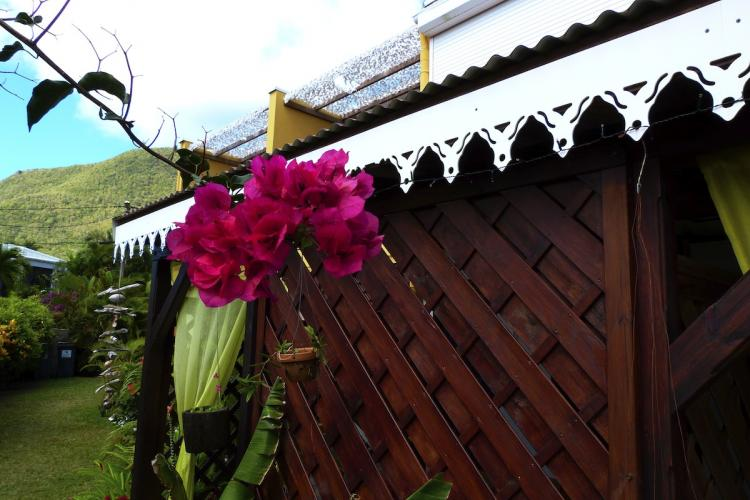 Des fleurs présentes partout dans la résidence