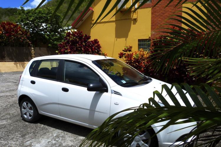 Parking sécurisé à l'intérieur de la résidence