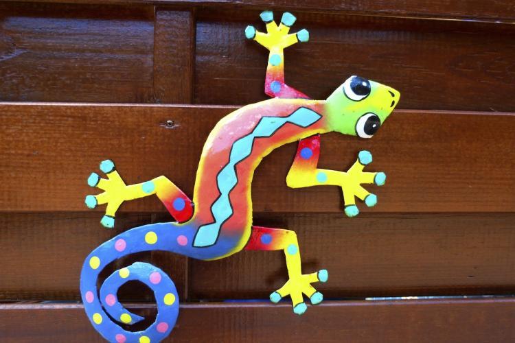 Plusieurs décorations haïtiennes à L'Oasis de L'Anse bleue