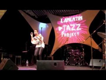 Joelle VIELET trio live au Lamentin Jazz Project 2011