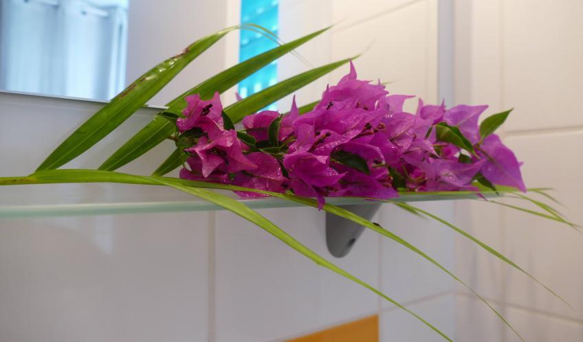 Quelques fleurs pour vous accueillir