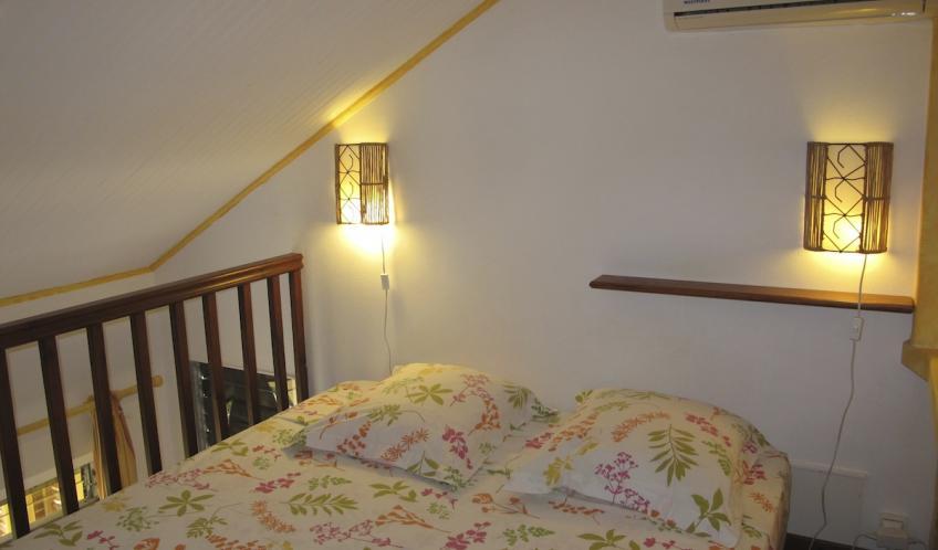 Votre chambre N°2 et son lit en 160 cm.
