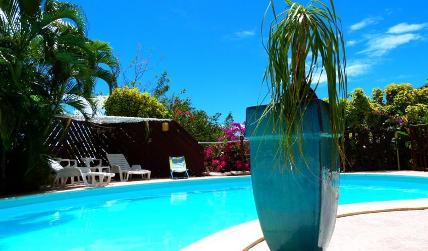 La piscine, un lieu à partager en famille ou entre amis.