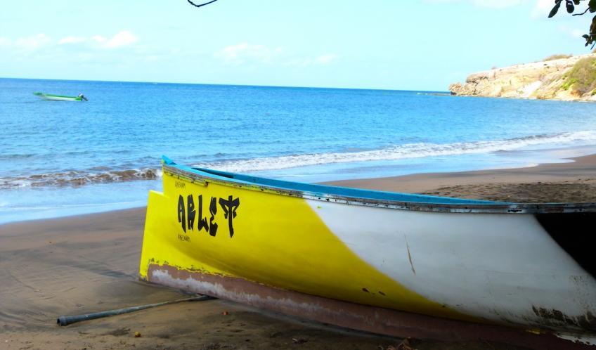 Petite Anse est un village de pêcheurs.