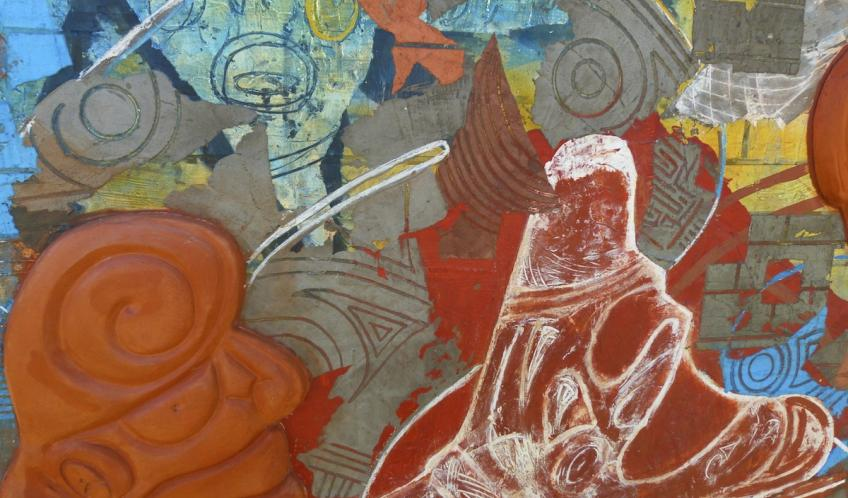 Cette oeuvre est exposée à l'extérieur, à côté de l'office du tourisme et face à l'espace Muséographique du Diamant.