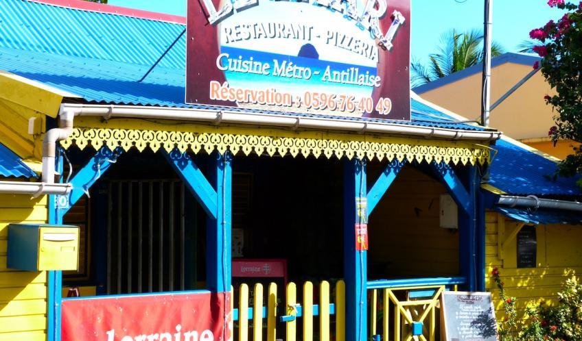 Les restaurants sont nombreux au Diamant.